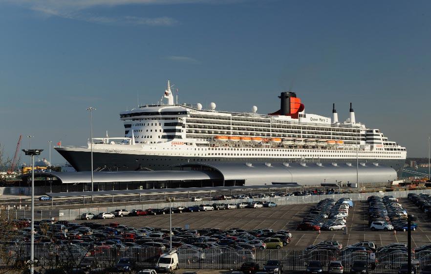 Ocean cruise terminal - Southampton airport to southampton port ...